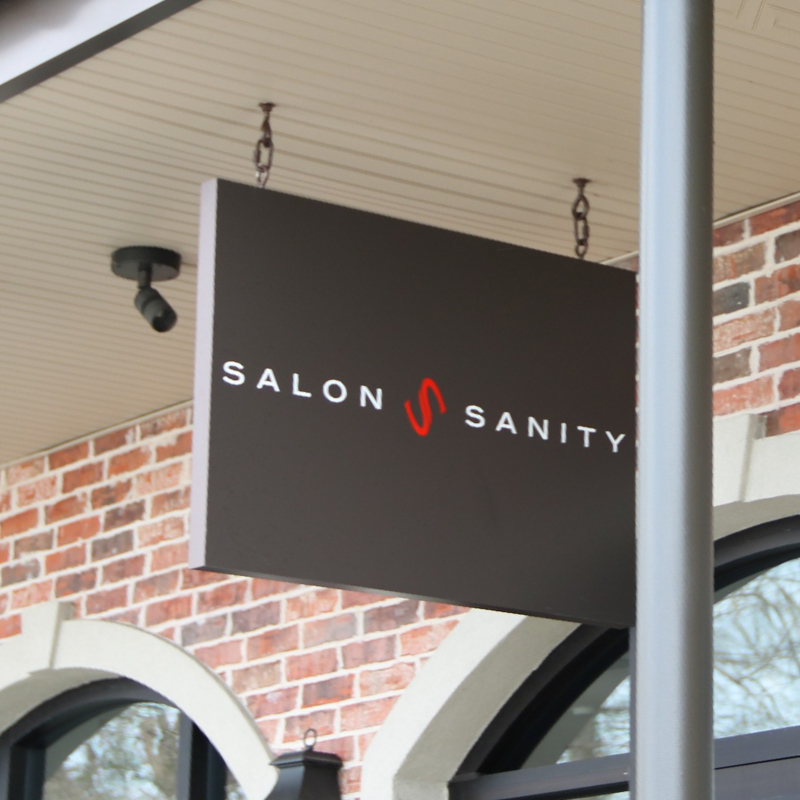 Salon Sanity Sign, Haircuts